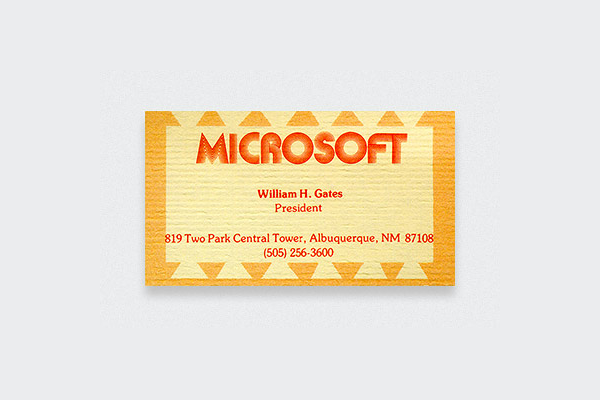 Bill-Gates-Business-Card
