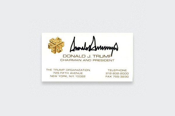 Donald-Trump-Business-Card