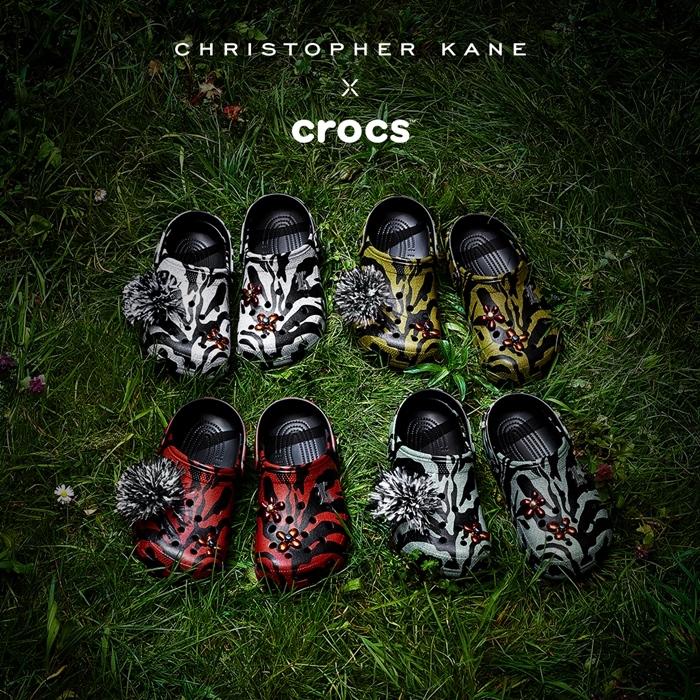 สุดเฟี้ยว! CROCS คอลเลคชั่น THE CHRISTOPHER KANE X CROCS 4 สี ลิมิเต็ด อิดิชั่น