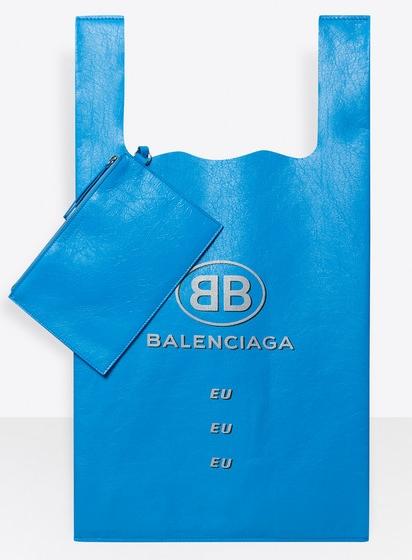 คุณพระ...เอามือกุมใจ! Balenciaga เปิดตัวกระเป๋าแรงบันดาลใจจากถุงหิ้ว ราคาเหยียบ 3 หมื่น!!