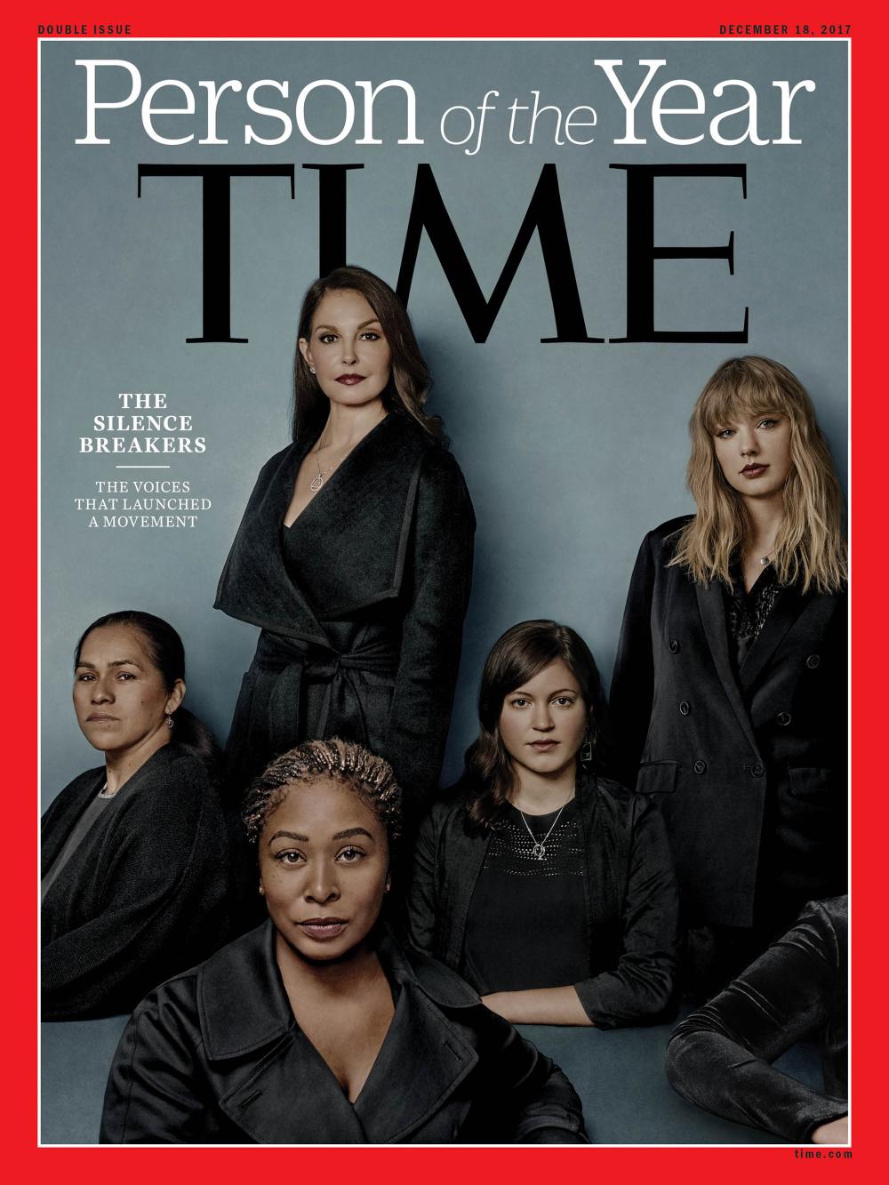 กลุ่มปลดปล่อยตนเองจากการเป็น 'เหยื่อคุกคามทางเพศ' คว้า 'บุคคลแห่งปี 2017' จาก นิตยสาร Time