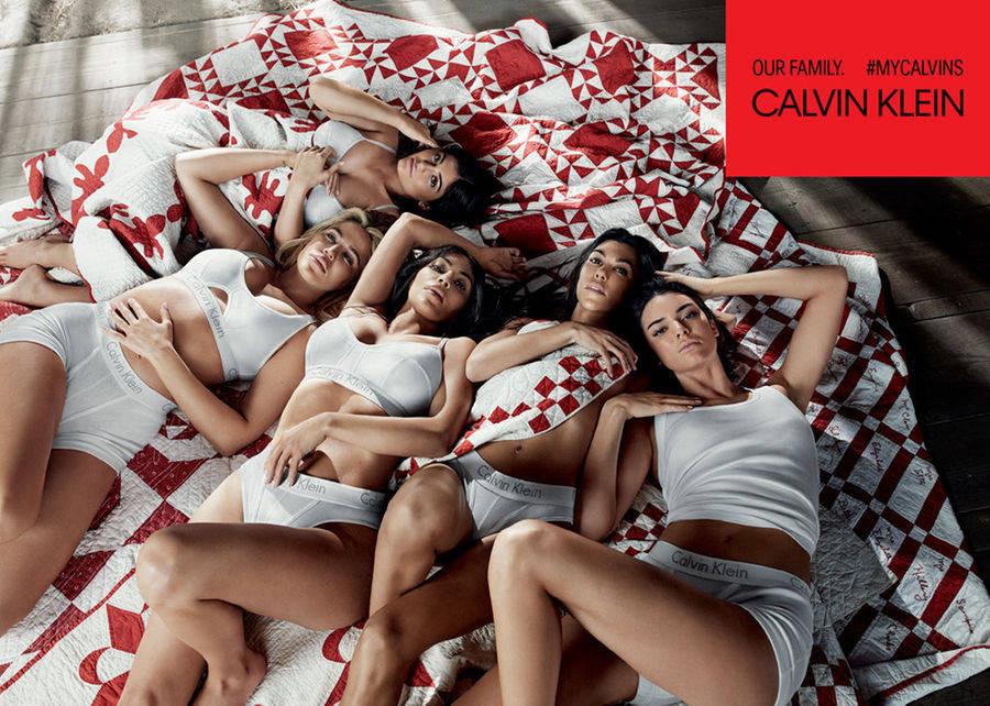 Calvin Klein ปล่อยหมัดเด็ดขน 5 สาวพี่น้อง 'คาร์เดเชียน' ระเบิดความแซ่บรับ spring/summer 2018