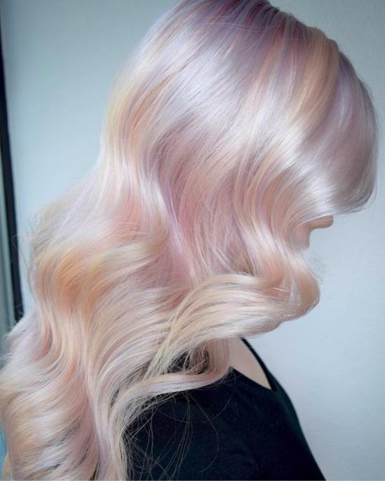 ส่องเทรนด์สีผมสุดฮอต! Hollywood Opal Hair เฉดสีรุ้งพาสเทลใหม่ สวยซอฟท์กว่าเดิม