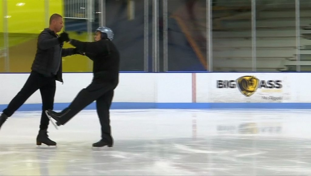 นักสเก็ตน้ำแข็ง